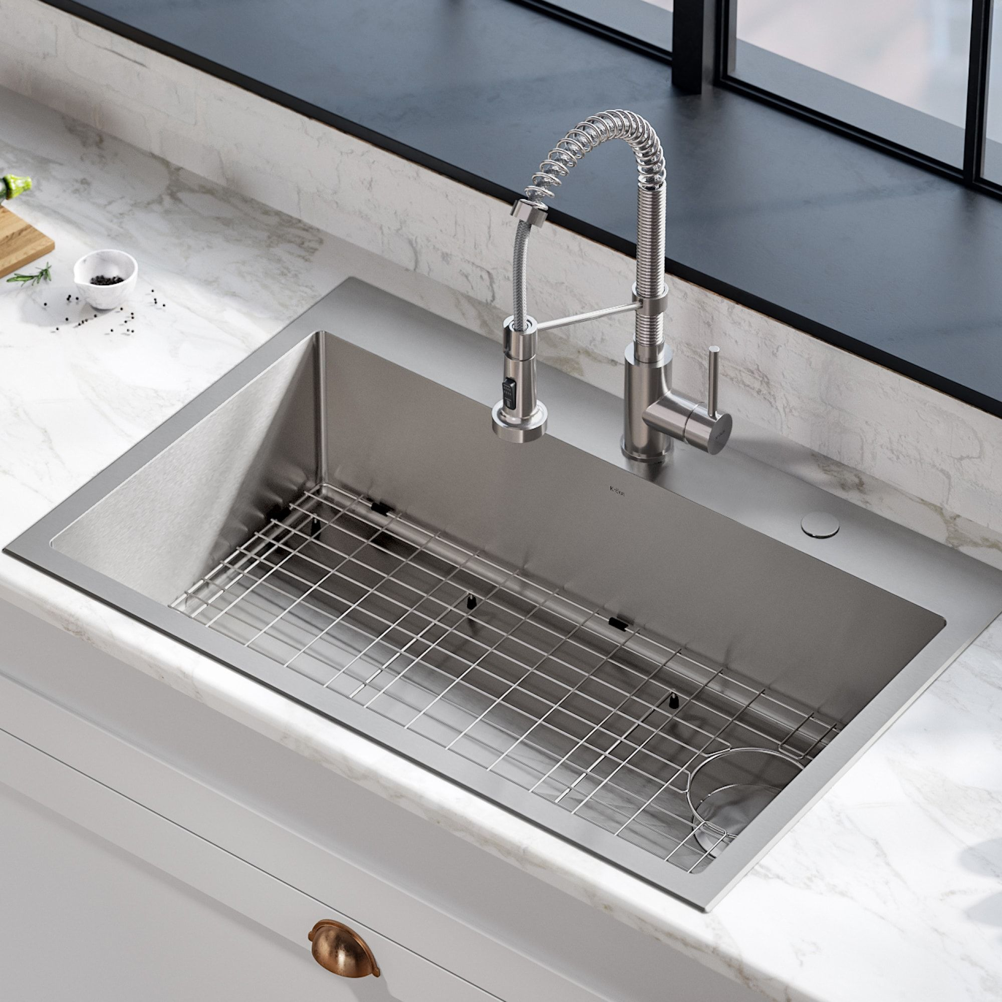 What Makes Stainless Steel Sink A Perfect Choice?