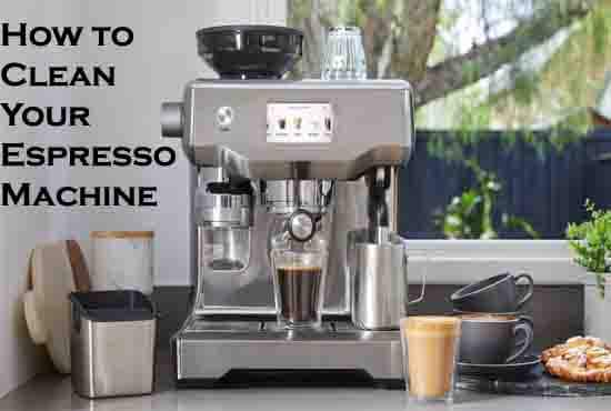 How to Clean Your Espresso Machine in 5 Easy Steps