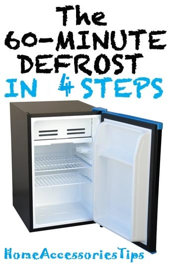 How to right-way defrost a refrigerator?
