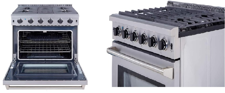 The Thor Kitchen 30 inch Freestanding Pro-Style Gas Range with 4.55 cu.ft. Review